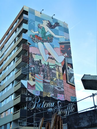 Fresque La Danseuse de Faile