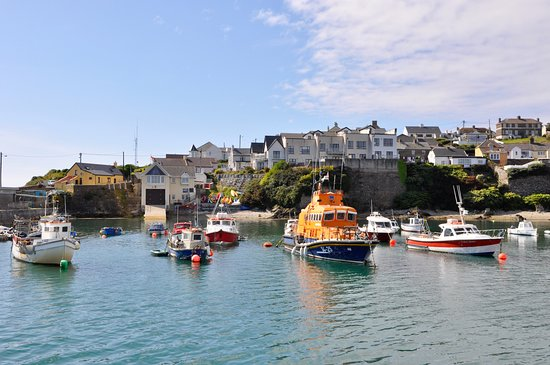 This is the picturesque harbor at Ballycotton where Pier 26 is located