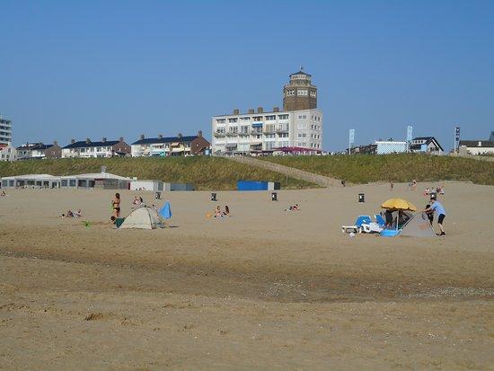 Zandvoort aan Zee: plage en mai