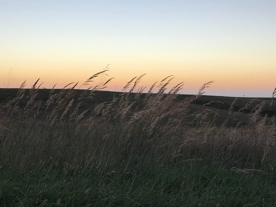 Sunset at the Willa Cather Memorial Prairie