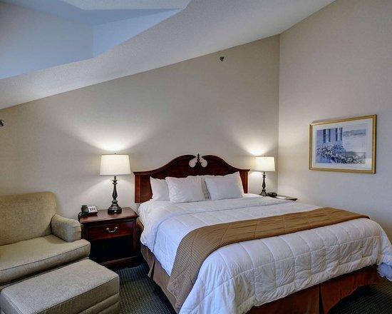 Clarion Inn Martha's Vineyard: Spacious guest room