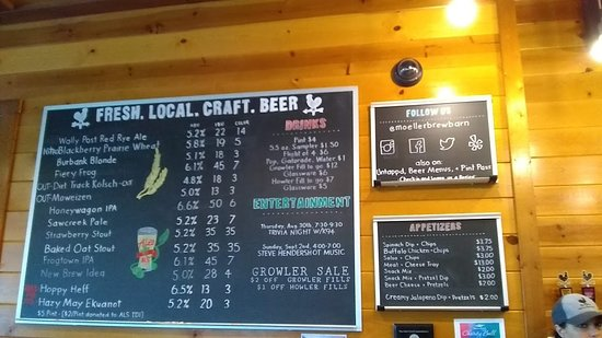 Maria Stein, Огайо: Moeller Brew Barn on Tap
