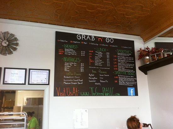 Whitinsville, MA: The Green Plate - Grab 'n Go Menu
