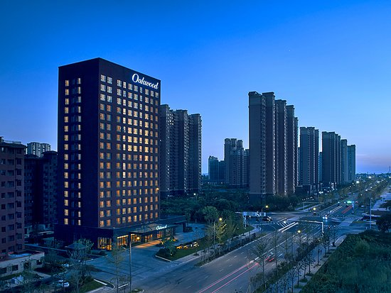 Oakwood Apartments Yangzhou: 酒店外观