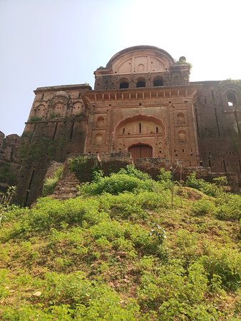 Chhatarpur, India: Gulganj fort after partial renovation