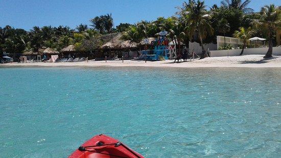 Paradise Beach Hotel: LA MEJOR PLAYA