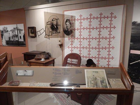 West Branch, IA: herbert history exhibit 1