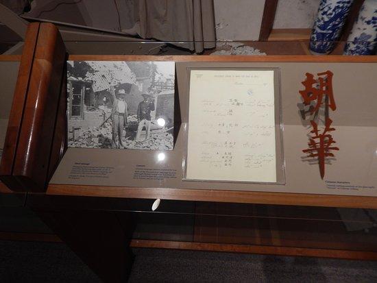 West Branch, IA: herbert history exhibit 4
