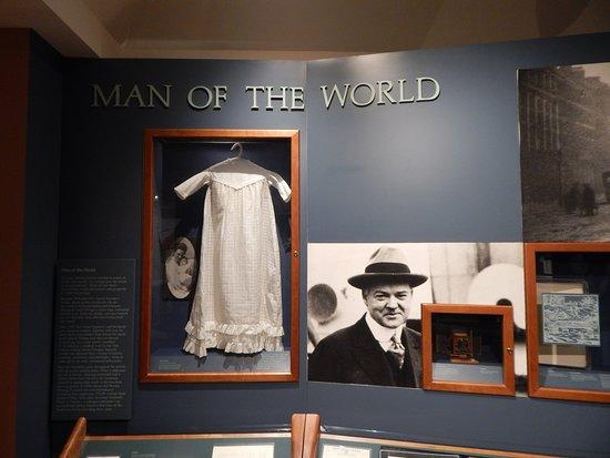West Branch, IA: herbert history exhibit 8