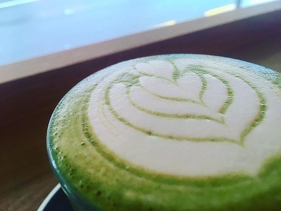 Neo Cafe & Eatery: SUPERFOOD LATTE matcha