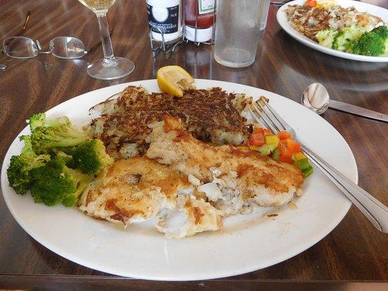 Newfoundland, Canada: Pan fried cod