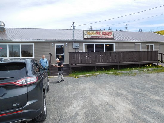Newfoundland, Canada : Outside Winterton Family Restaurant