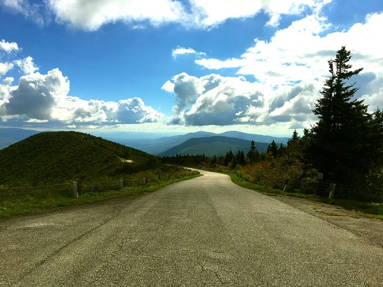 Mount Equinox: This is the auto road