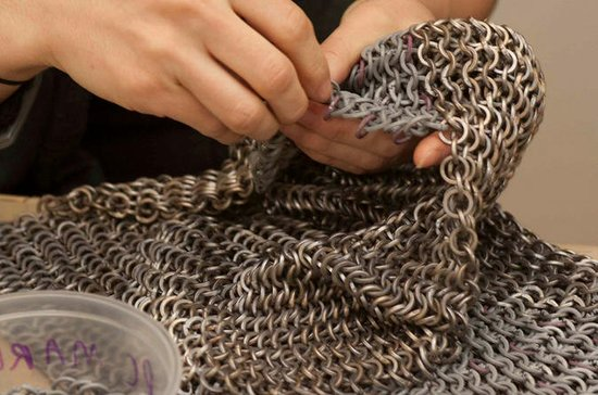 Movie Blood and Chainmaille Workshop