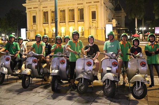 Tour de Hanoi After Dark food