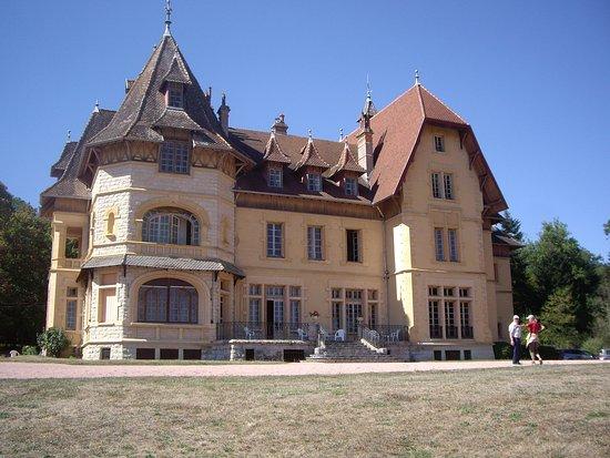 Charolles, Frankrijk: L'arrière du château