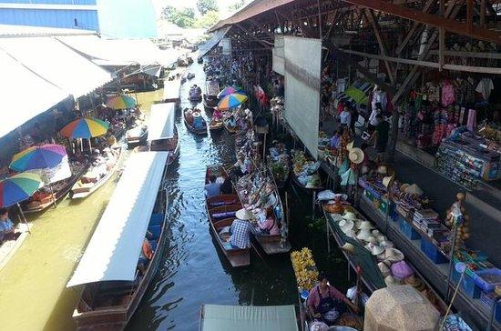 Schwimmende Märkte von Damnoen Saduak...