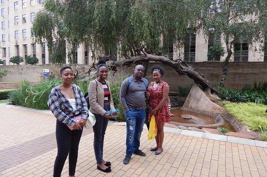 Excursão a pé em Joanesburgo