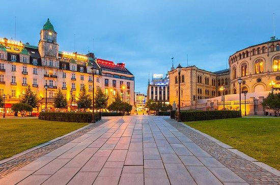 Cidade de Oslo destaca excursão a pé...