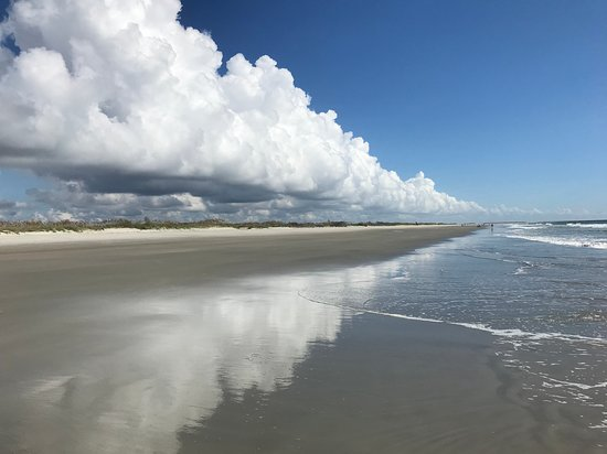 Huntington Beach State Park: Clouds before Hurricane Florence