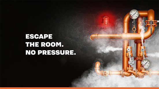 Southport, Austrália: Escape the room. No pressure.