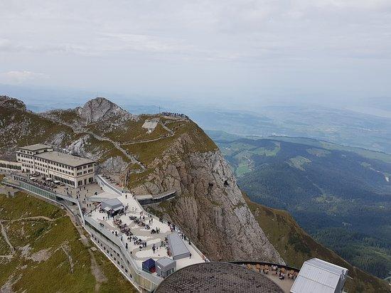 Mount Pilatus: Vue sur le Pilatus