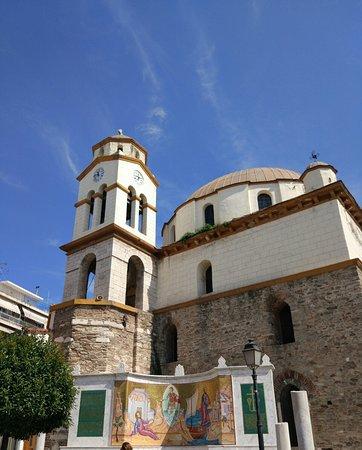 Monument Apostle Paul - Church St. Nicholas: Храм и мозаика
