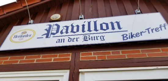 Bad Bederkesa, Germany: Pavillon an def Burg