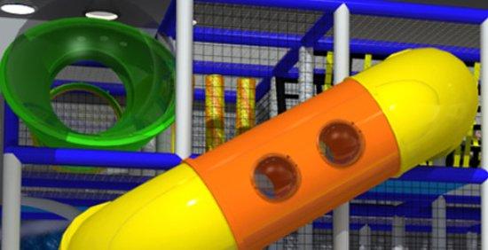 un piccolo pezzo dell' enorme playground gioco