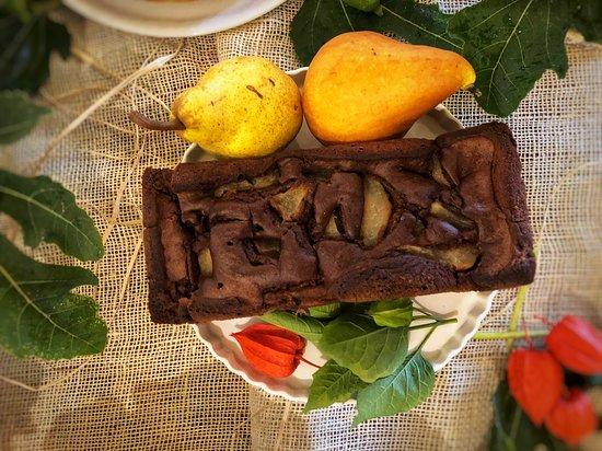 Caprezzo, Italia: Plumcake cioccolato e pere