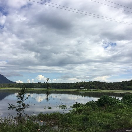 Maguindanao, Philippinen: A picture taken after rainy days.  Marayag Lake.