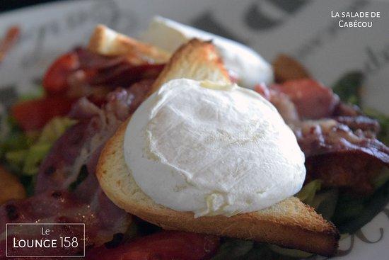 Lounge 158: Une salade de cabécou absolument divine