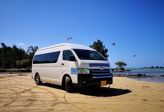 Vieux Grand Port: Mini Bus