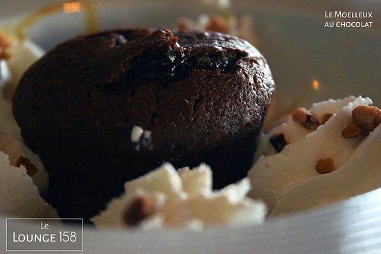 Lounge 158: Moelleux au chocolat chaud