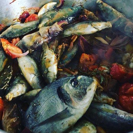 Soupe de poisson maison (pêche locale)