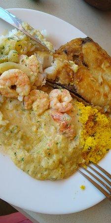 Ponta do Mel, RN: Almoço