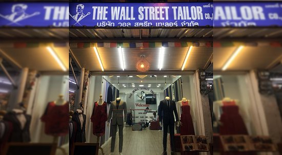 ‪The Wall Street Tailor‬