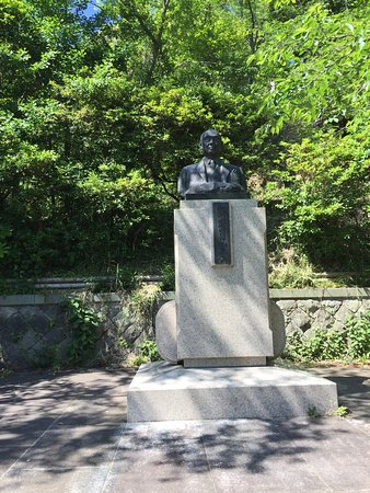 Statue of 11th Shinjiro Yamamura