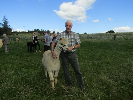 Husthwaite, UK: Didier with Colin
