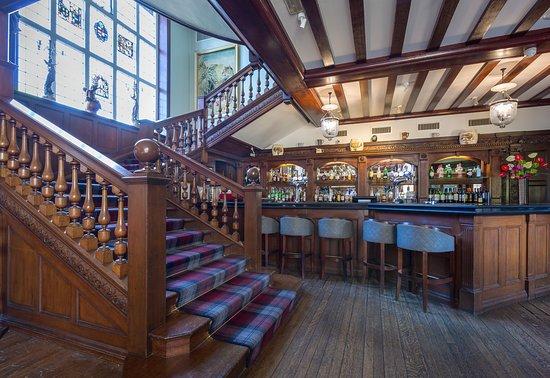 Stock, UK: Lounge bar