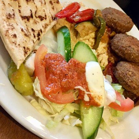Cafe Truva Royal Mile: Nice veggie lunch at the Cafe Truva