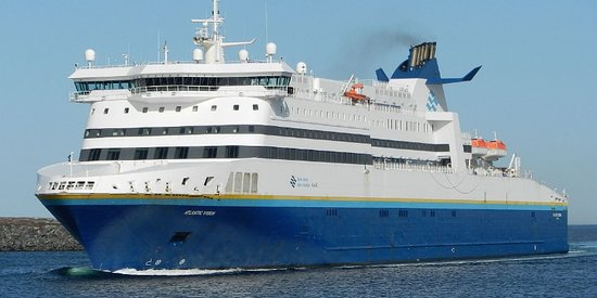 North Sydney, Canadá: The Atlantic Vision Ferry