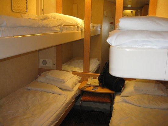North Sydney, Canadá: 4-berth Cabin center ship