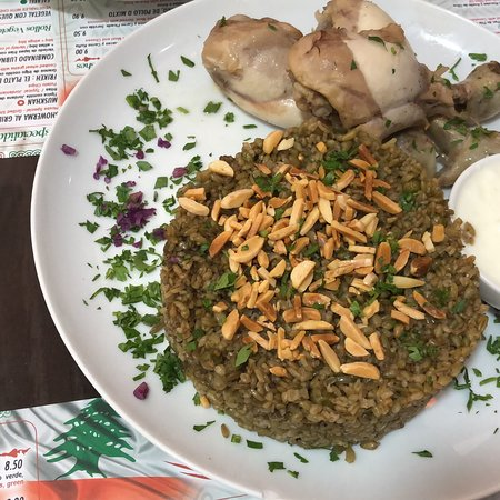 Delicious Lebanese food, great service and reasonable prices