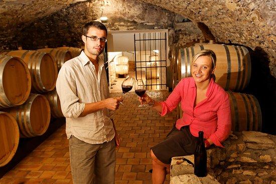 Thore-la-Rochette, Frankrike: Tasting in the Loire Valley Cellars