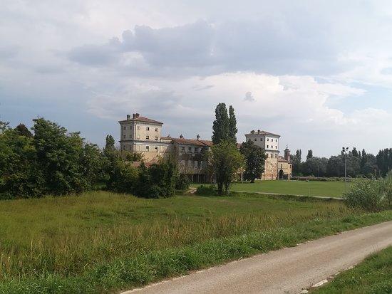 Palazzo di San Giacomo: Palazzo S. Giacomo (Russi, RA): scorcio