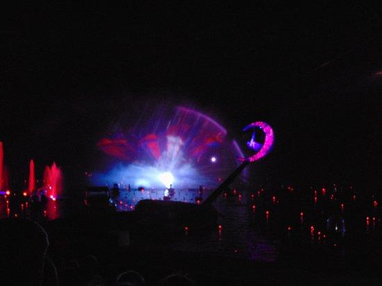 Futuroscope : Espectaculo nocturno de el circo del sol