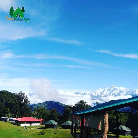 ‪‪Chopta‬, الهند: Buzz Eco Camp Chopta landscape View‬