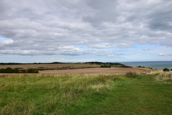 St Margaret's at Cliffe, UK: Northeastern view