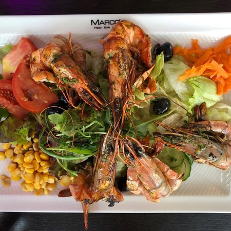 Stephanskirchen, Germany: Marco's Salat mit Shrimps